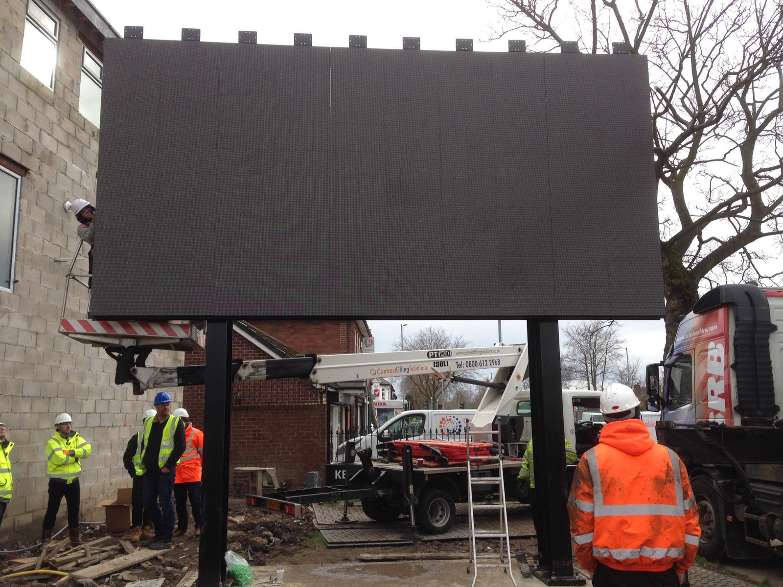 Digital Signs & Support Steel