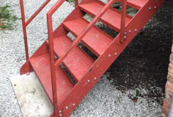 WALKWAY/STAIRCASE CONSTRUCTION